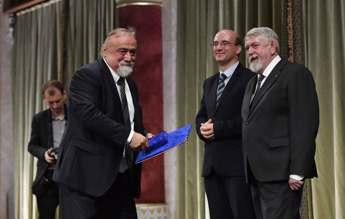 Takaró Mihály és Kásler Miklós 2018-ban.