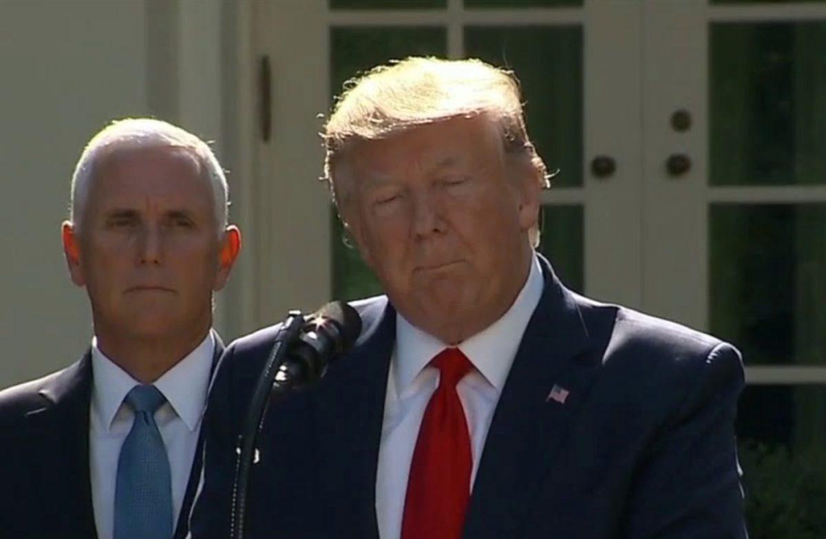 Donald Trump lemondta varsói látogatását