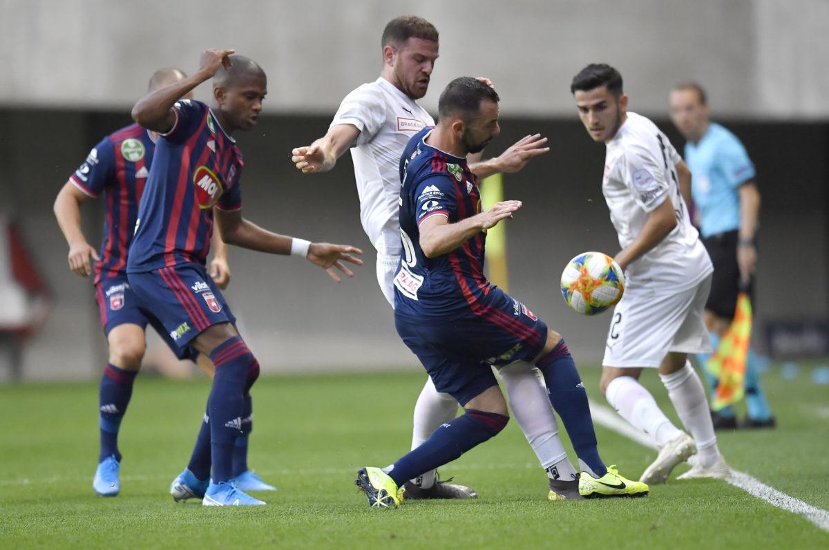 Az Európa-liga selejtező második fordulójában játszott Fehérvár FC - Vaduz mérkőzés a felcsúti Pancho Arénában 2019. július 25-én.