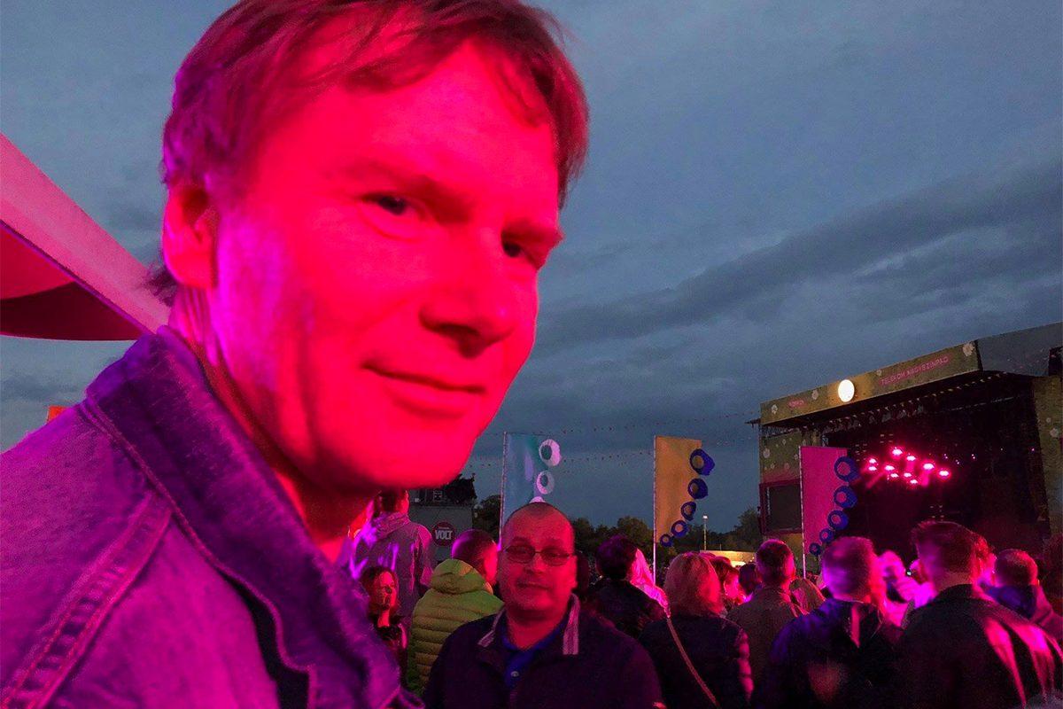 Fodor Gábor a 2018-as VOLT Fesztiválon.