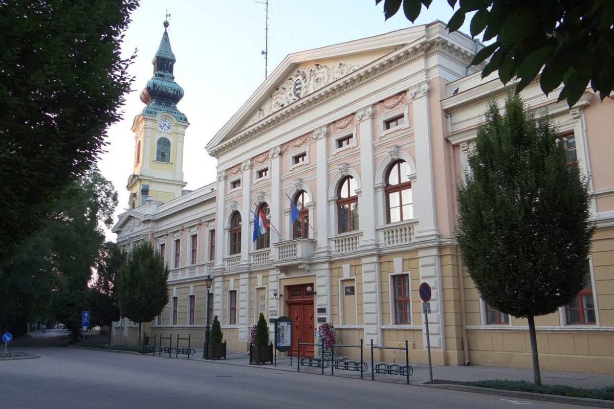 A gyulai városháza.