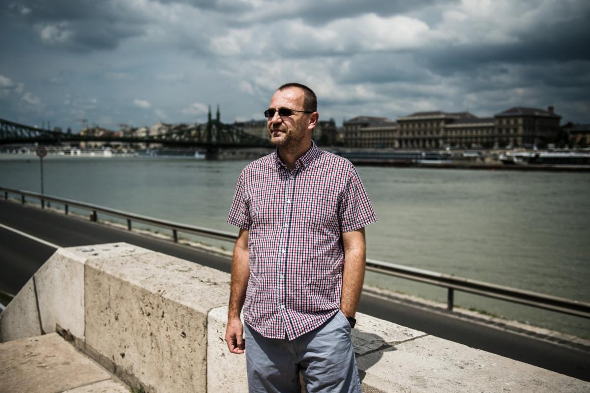Simongáti Győző hajómérnök, a Budapesti Műszaki és Gazdaságtudományi Egyetem tanszékvezető-helyettese Budapesten, a Műegyetem rakparton 2019. június 24-én.