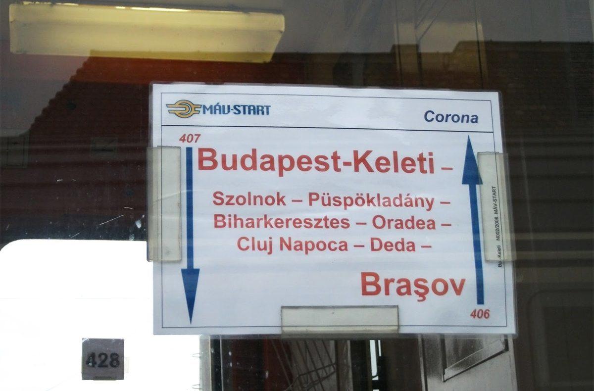 Ezentúl magyarul is feltünteti a MÁV a határon túli állomásneveket