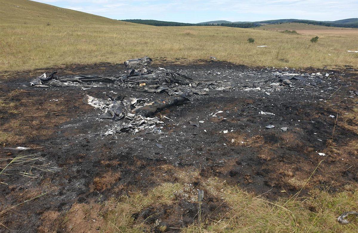 Lezuhant és kigyulladt egy kisrepülőgép Veszprém megyében