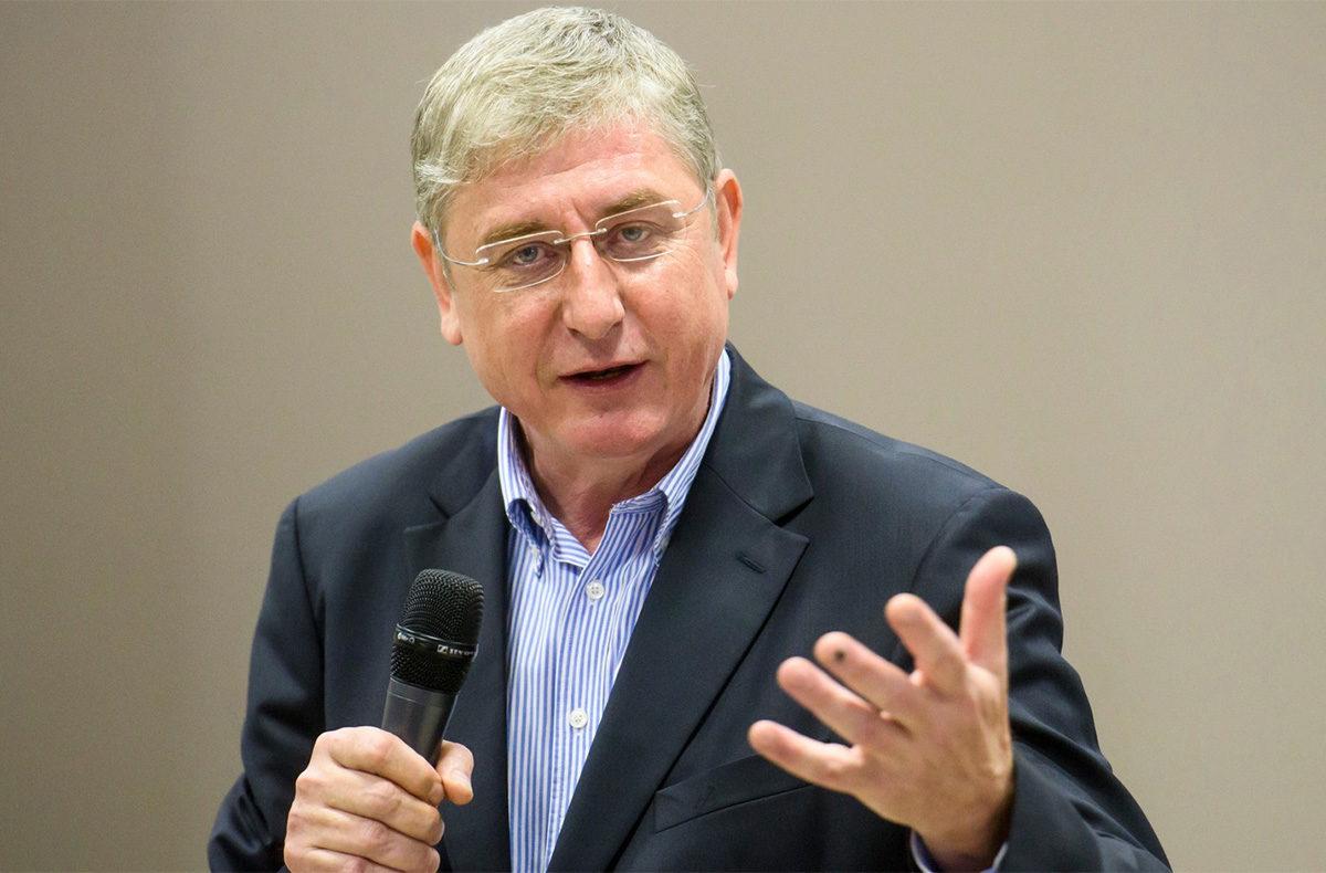 Gyurcsány Ferenc, a Demokratikus Koalíció (DK) elnöke.