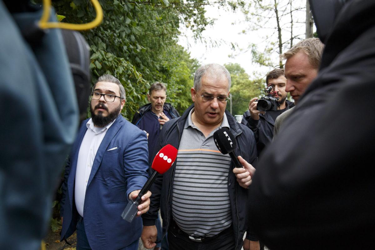 Kósa Lajos, a Fidesz önkormányzati választásokért felelős kampányfőnöke érkezik a Polgári Magyarországért Alapítvány rendezvényére, a Polgári Piknikre a kötcsei Dobozy kúriához 2018. Szeptember 8-án.