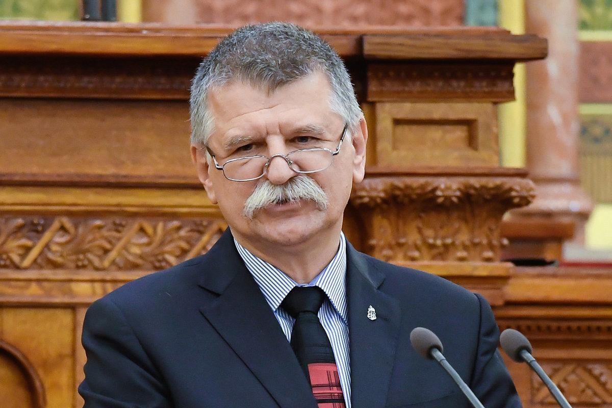Kövér László házelnök beszédet mond a Keresztény Értelmiségiek Szövetségének (KÉSZ) XII. kongresszusán a Parlamentben 2019. szeptember 14-én.