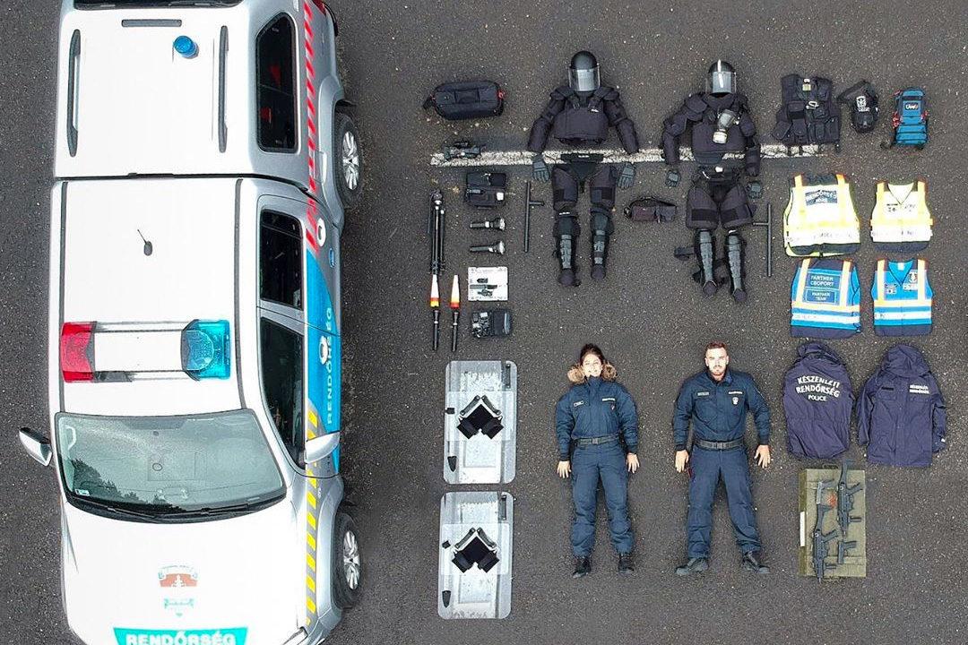A magyar rendőrökhöz is eljutott a tetris challange