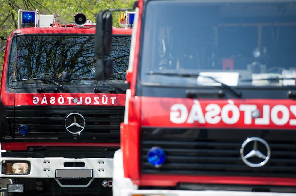Idős nő égett bent egy házban a XVII. kerületben