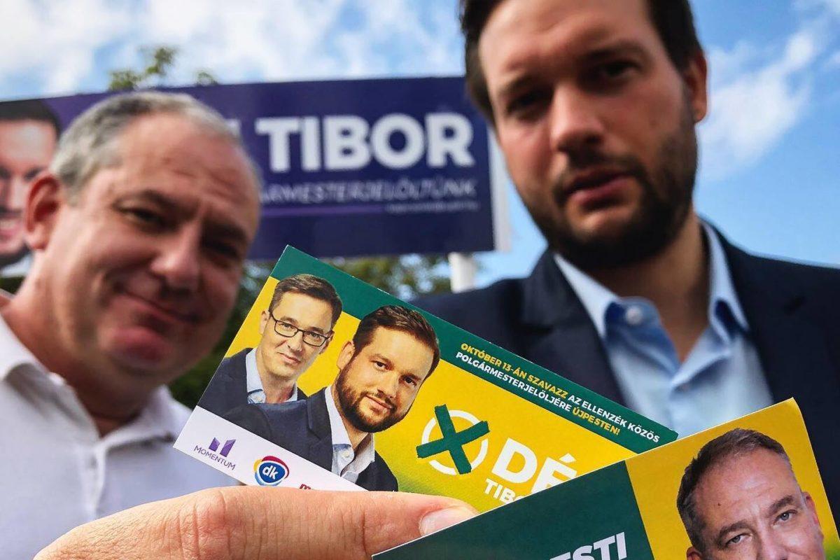 Déri Tibor (jobbra).