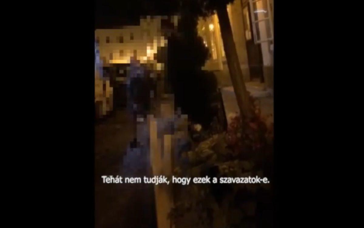 Rejtélyes teherautót videóztak éjjel az I. kerületben, mely a leköszönő fideszes polgármester házához vitt egy rakomány dobozt