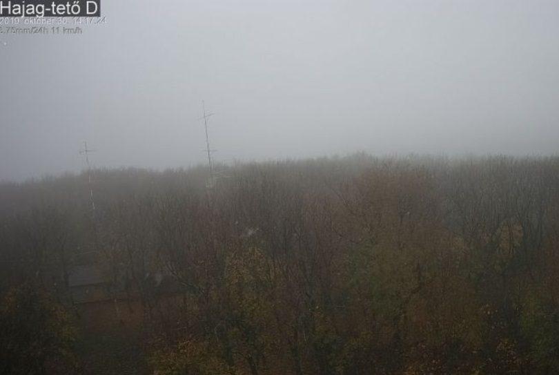 Havazik a Hajag-tetőn.