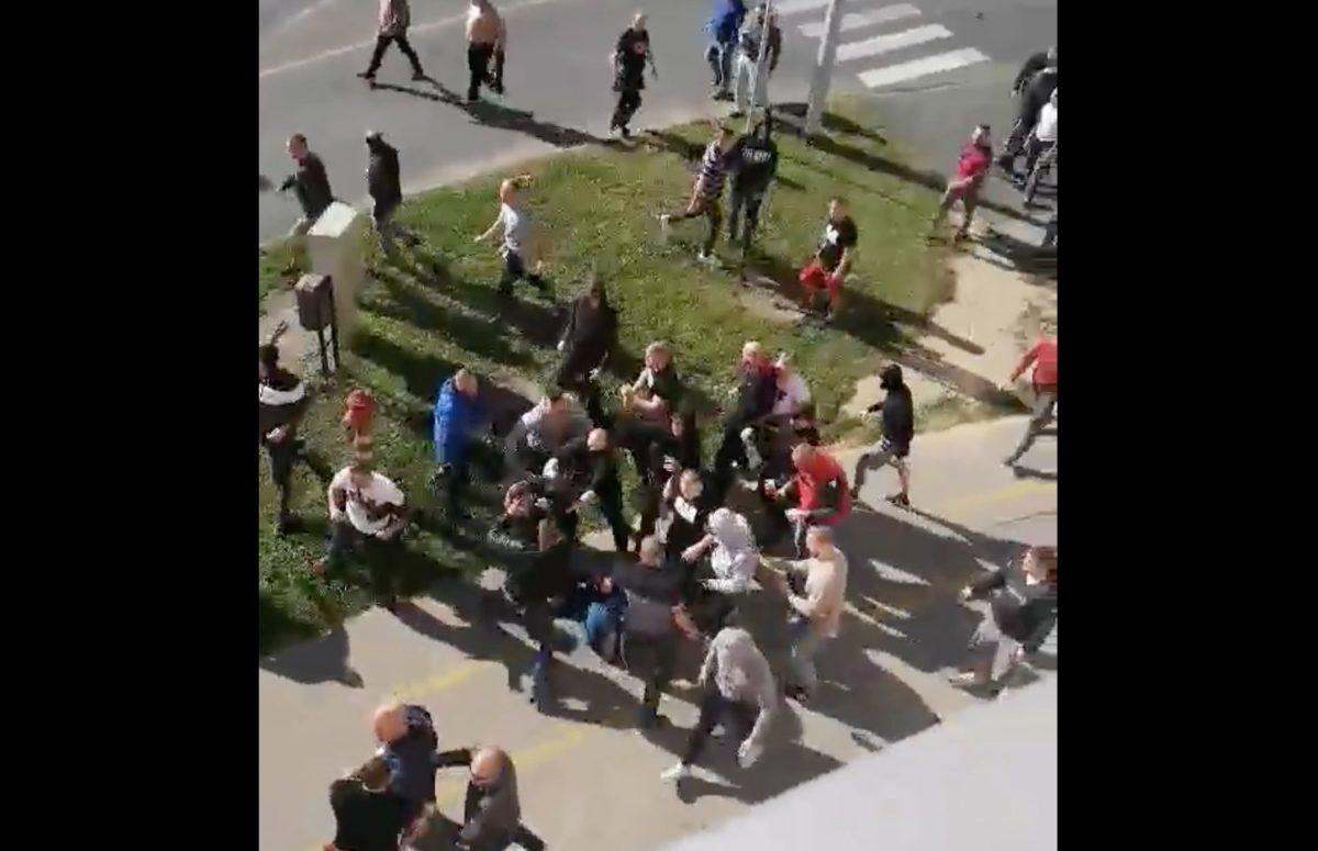 A nyílt utcán verték egymást a Honvéd és a Zalaegerszeg szurkolói
