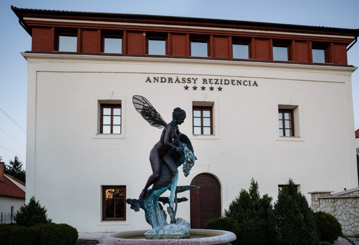Az ötcsillagos Andrássy Rezidencia Tarcalon.