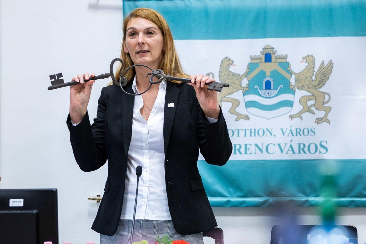 Baranyi Krisztina, Ferencváros polgármestere.
