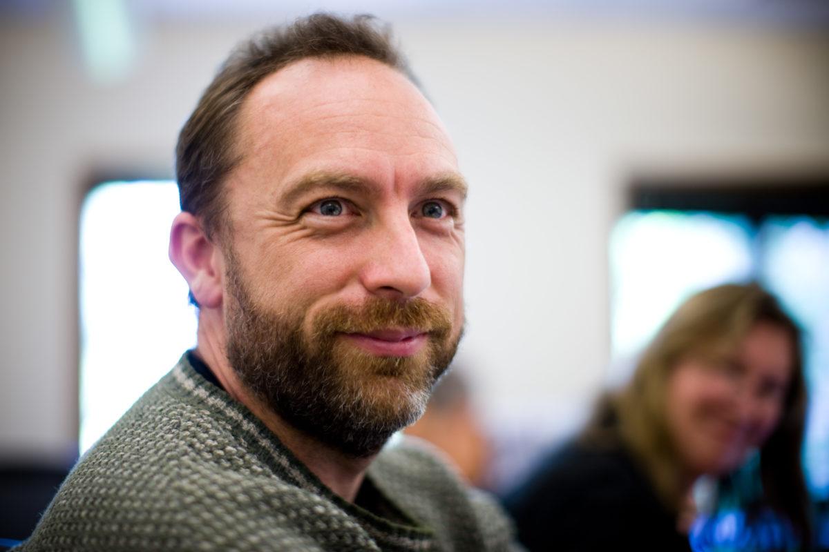 Jimmy Wales, a Wikipédia társalapítója.