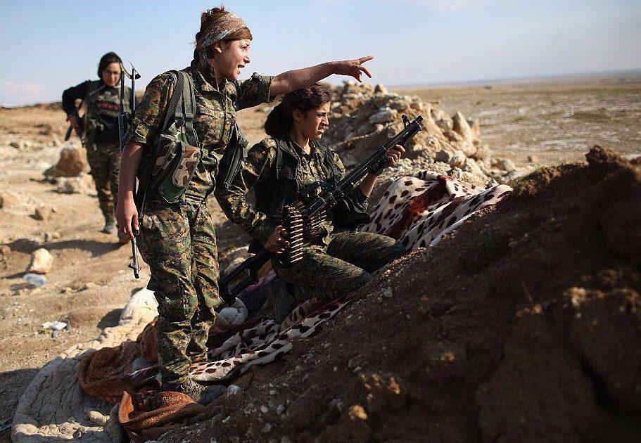 Kurd harcosnők üzentek a magyaroknak Erdogan látogatása előtt