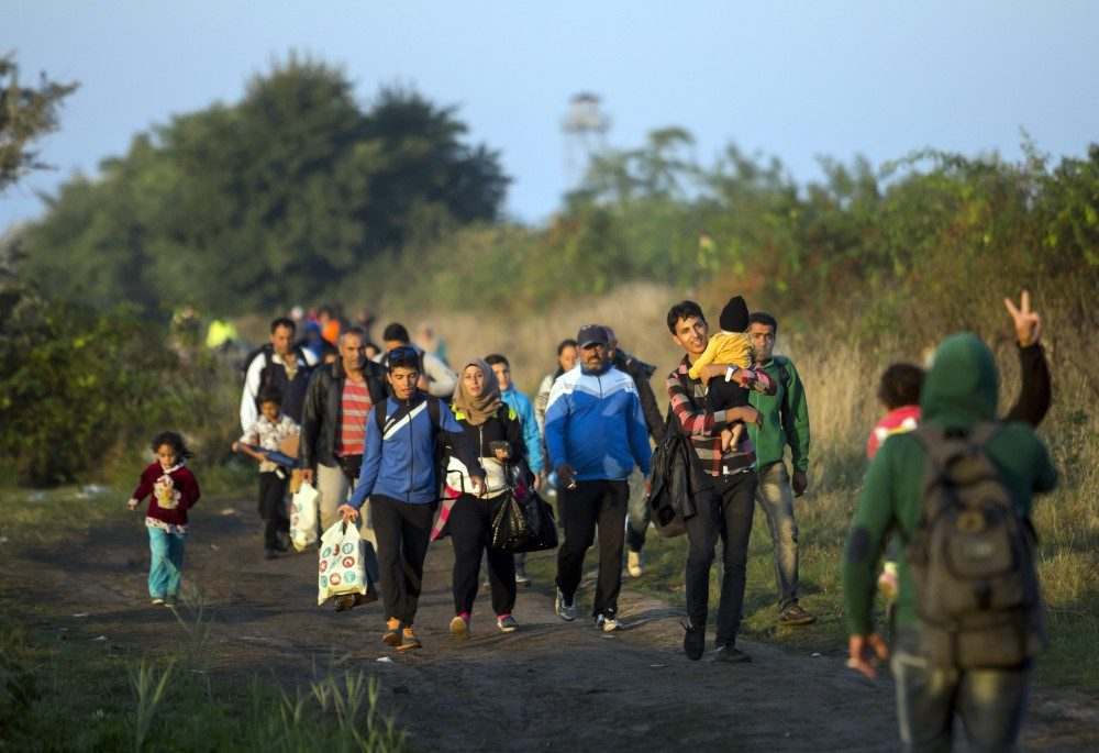 Meglőttek egy migránst a horvát rendőrök