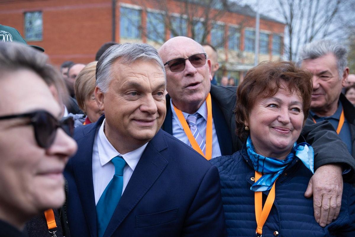Orbán Viktor Eszéken 2019. november 28-án.