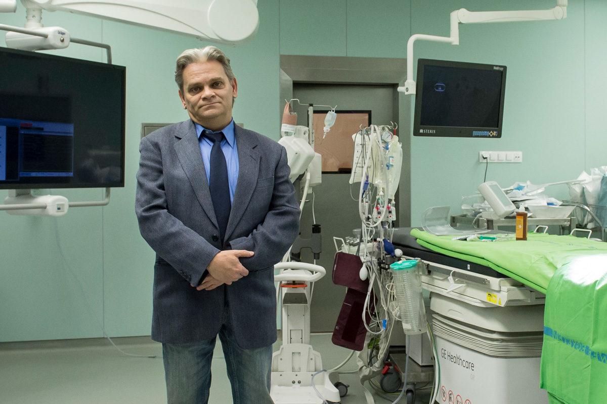 Schwartz Sándor, az első magyarországi szívátültetett 2017. januárjában.