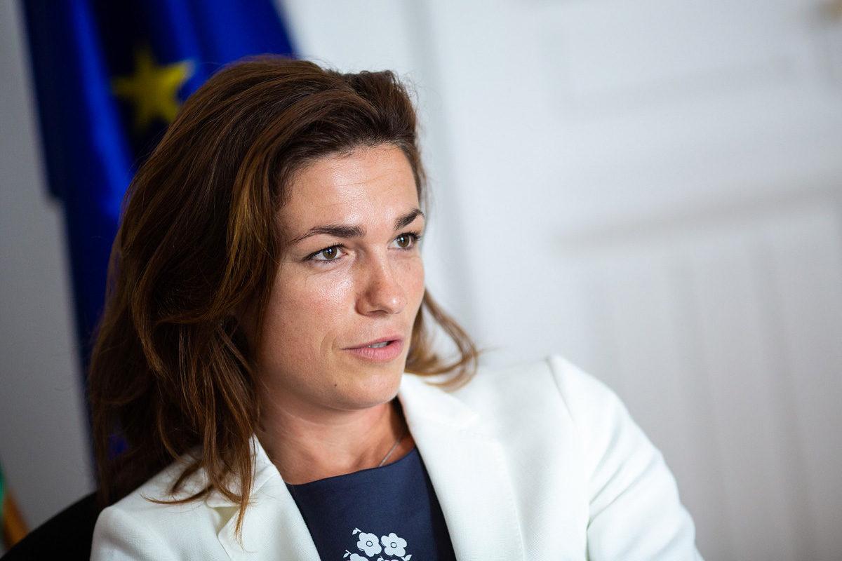 Varga Judit igazságügyminiszter.
