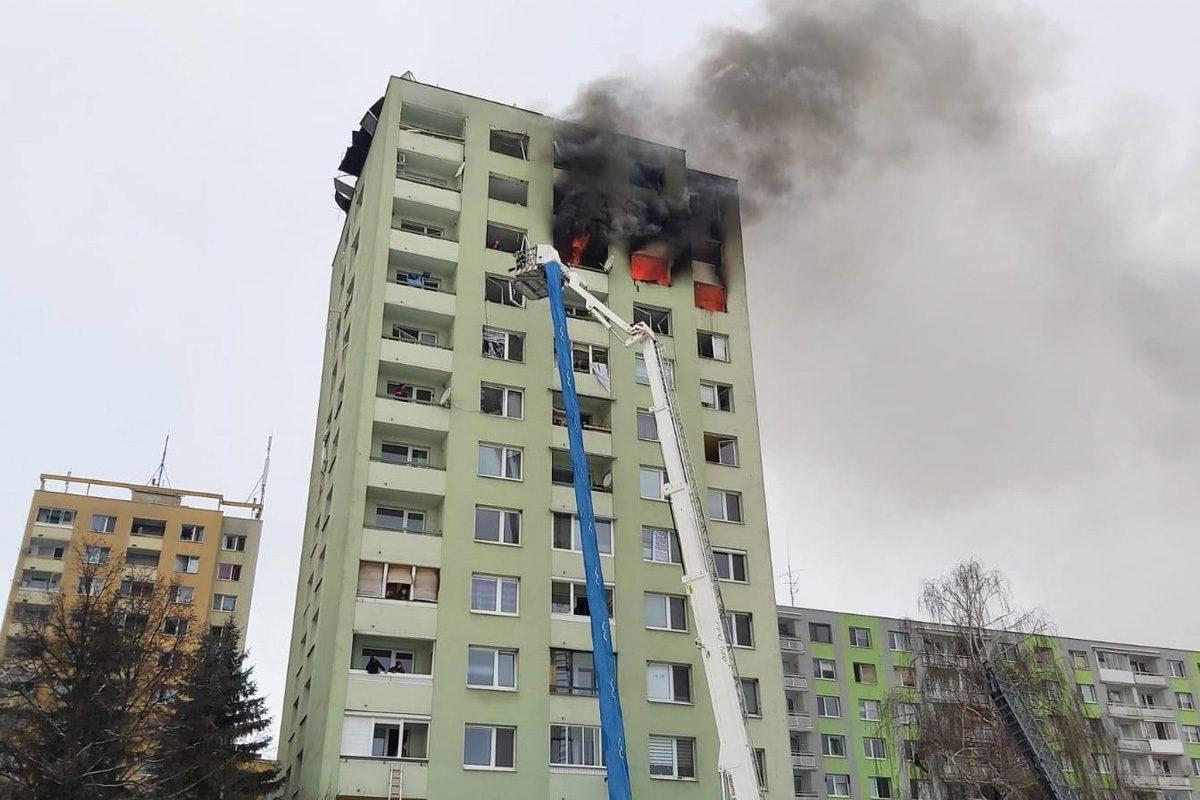 Gázrobbanás egy eperjesi panelben, többen meghaltak