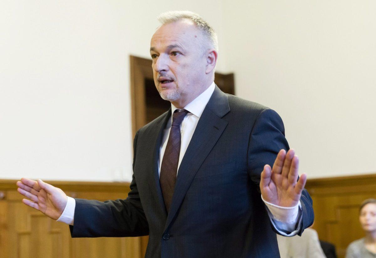 Hernádi Zsolt, a MOL Magyar Olaj- és Gázipari Nyilvánosan Működő Részvénytársaság elnök-vezérigazgatója.