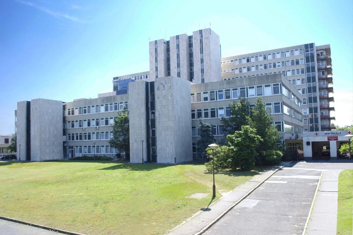 A Jahn Ferenc Dél-pesti Kórház és Rendelőintézet épülete.