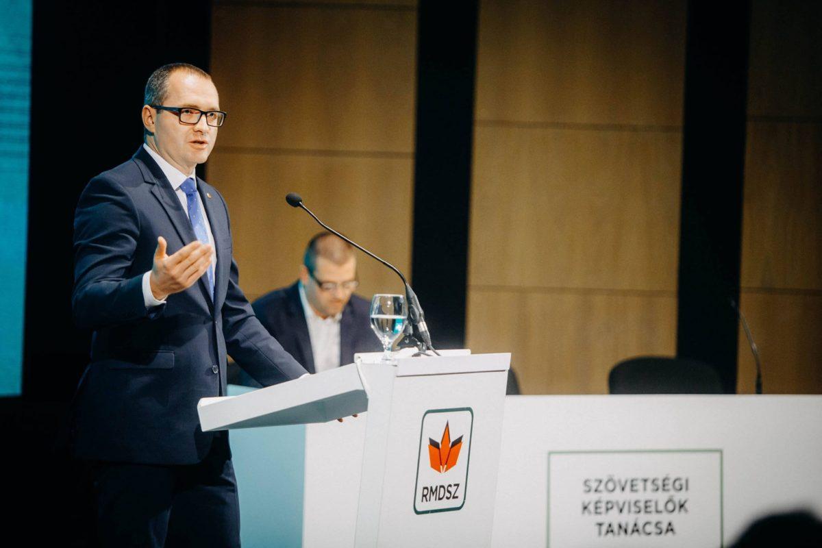 Korodi Attila, az RMDSZ képviselőházi frakcióvezetője.