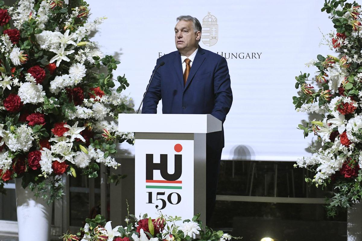 Orbán Viktor miniszterelnök megnyitja a Kincsek Budapestről: európai és magyar mesterművek a budapesti Szépművészeti Múzeumból és a Magyar Nemzeti Galériából címmel megrendezett tárlatot a tokiói Szépművészeti Múzeumban 2019. december 5-én.