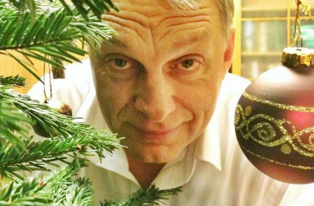 Központi Orbán-interjúval kívánnak boldog karácsonyt a megyei lapok