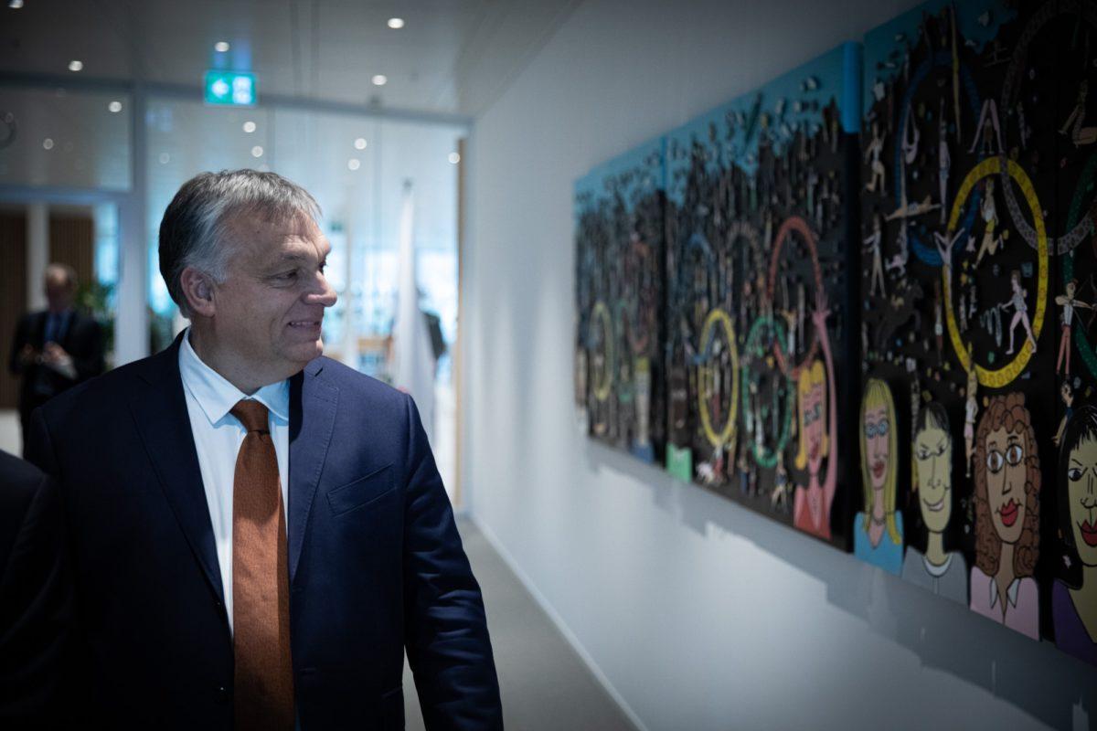 Orbán Viktor miniszterelnök.
