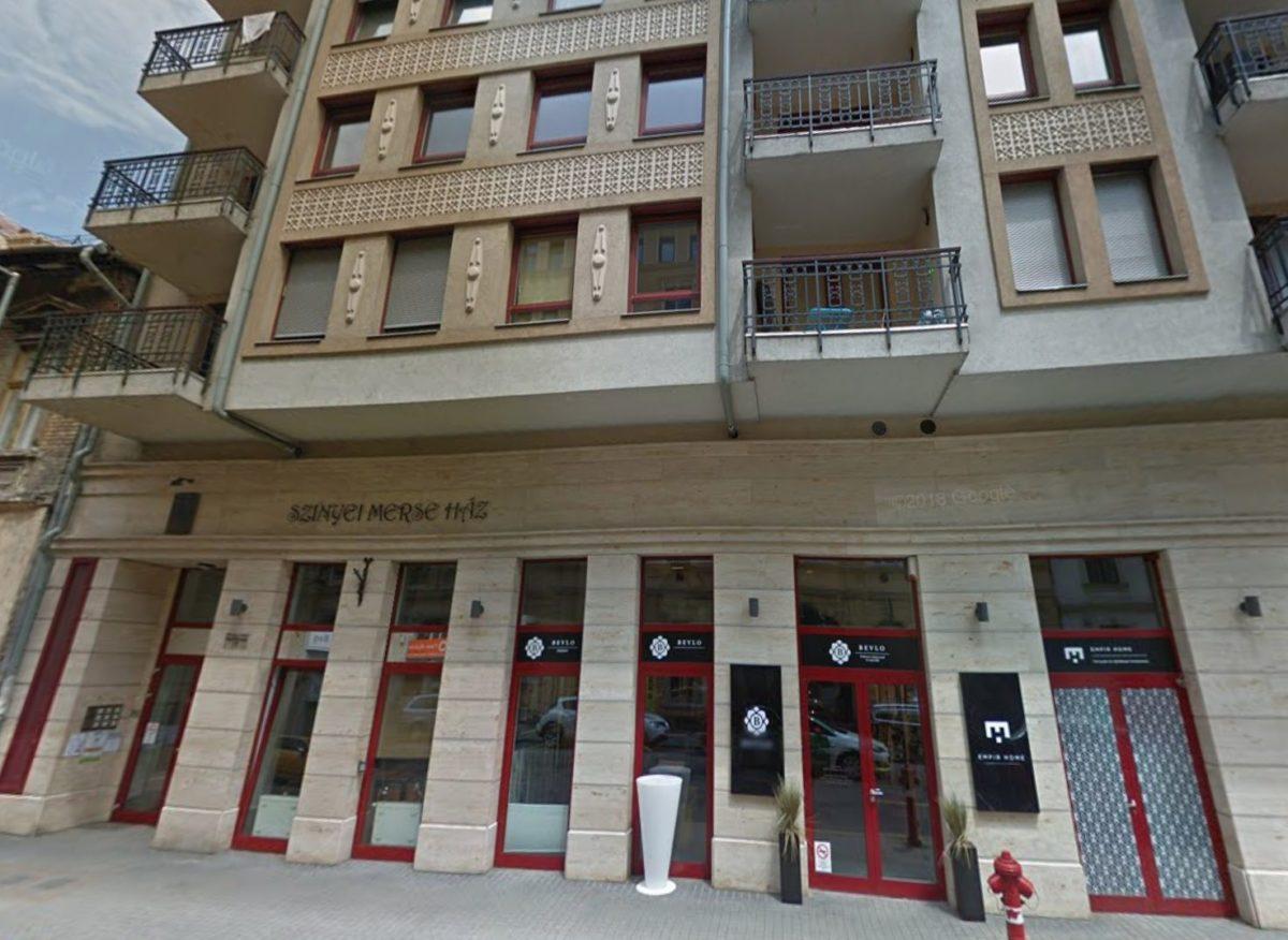 A Szinyei Merse Ház Budapesten, a VI. kerületben.