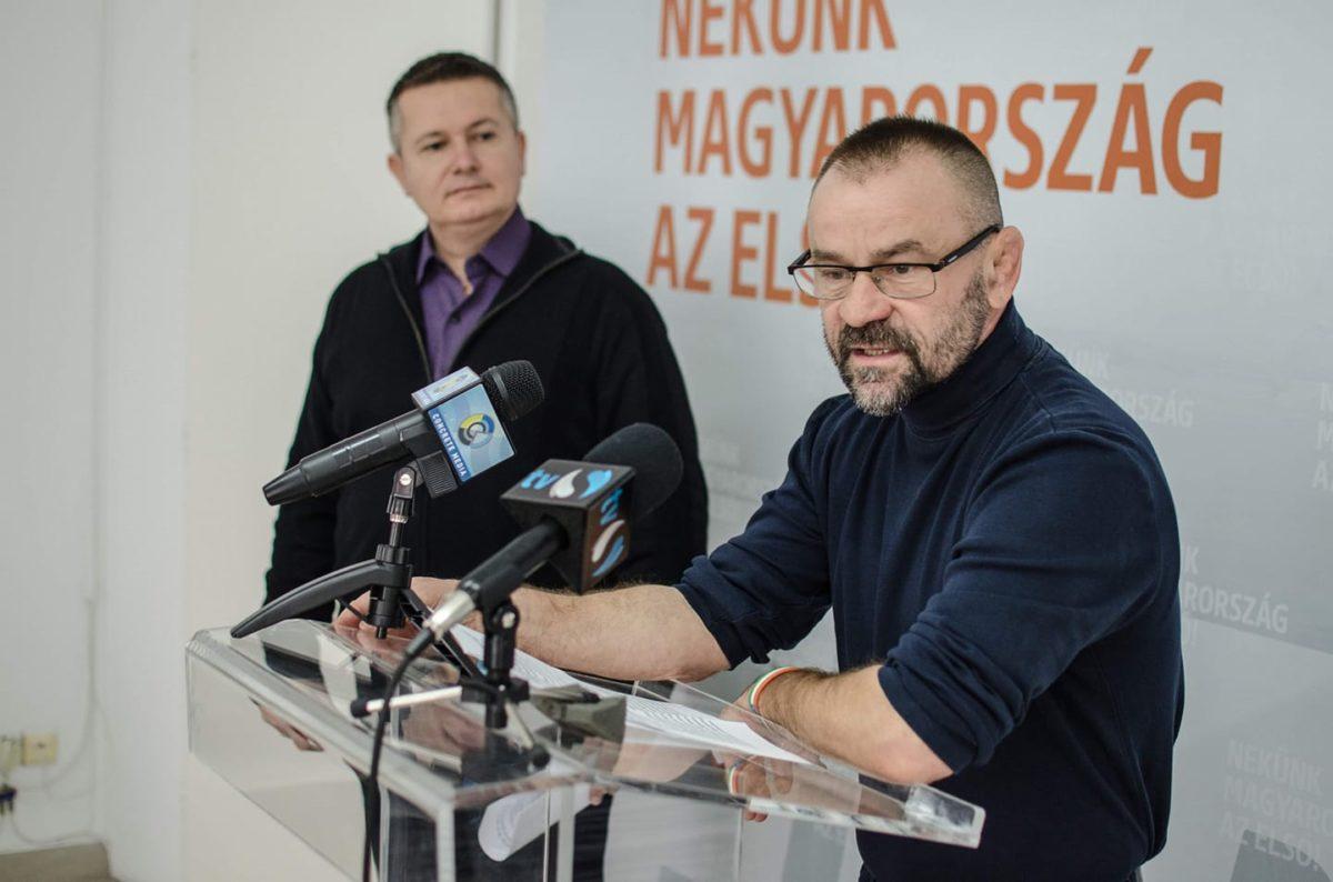 Turcsány László, a Fidesz salgótarjáni önkormányzati frakcióvezetője.