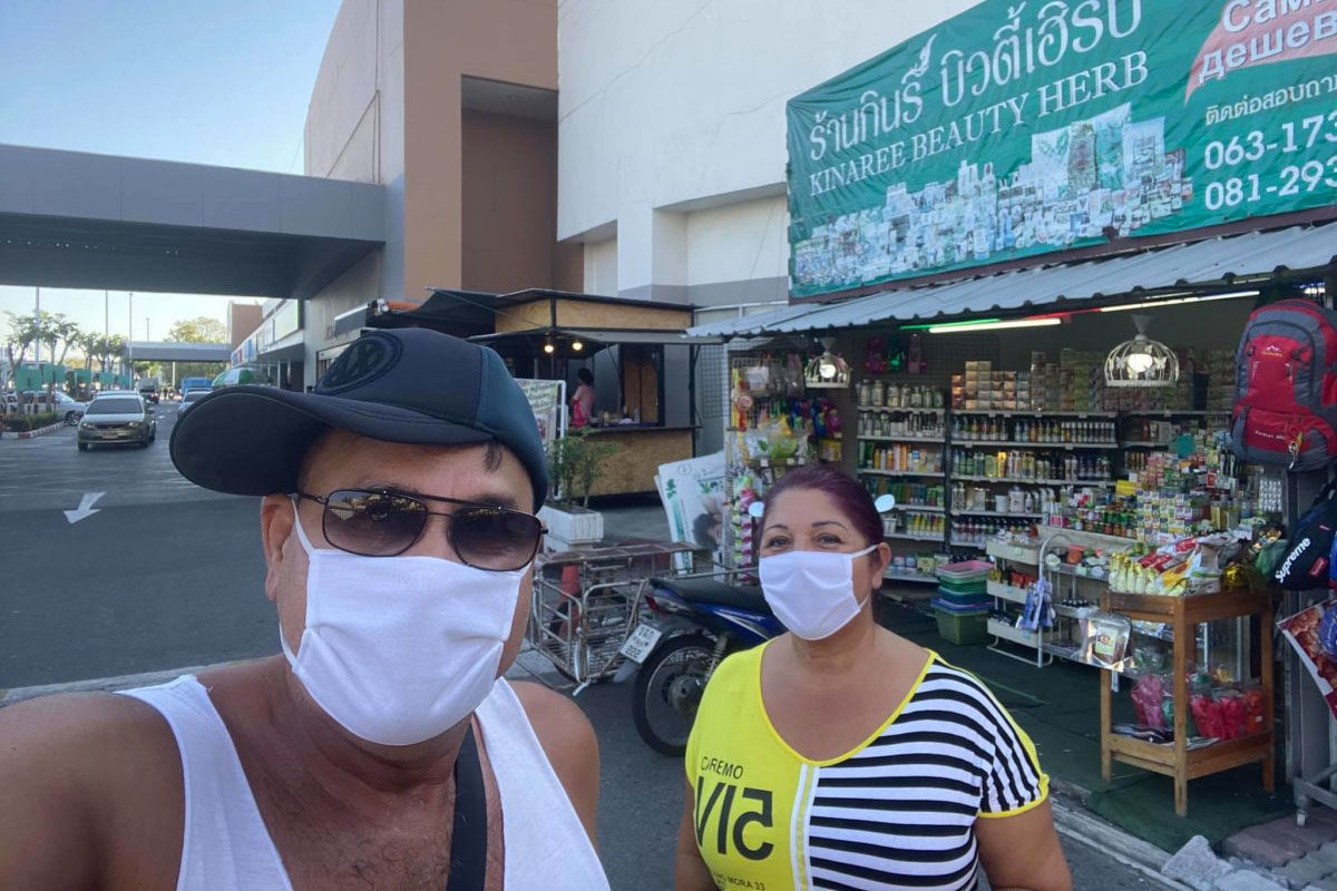 Bódi Gusztiék helyzetjelentése Thaiföldről.