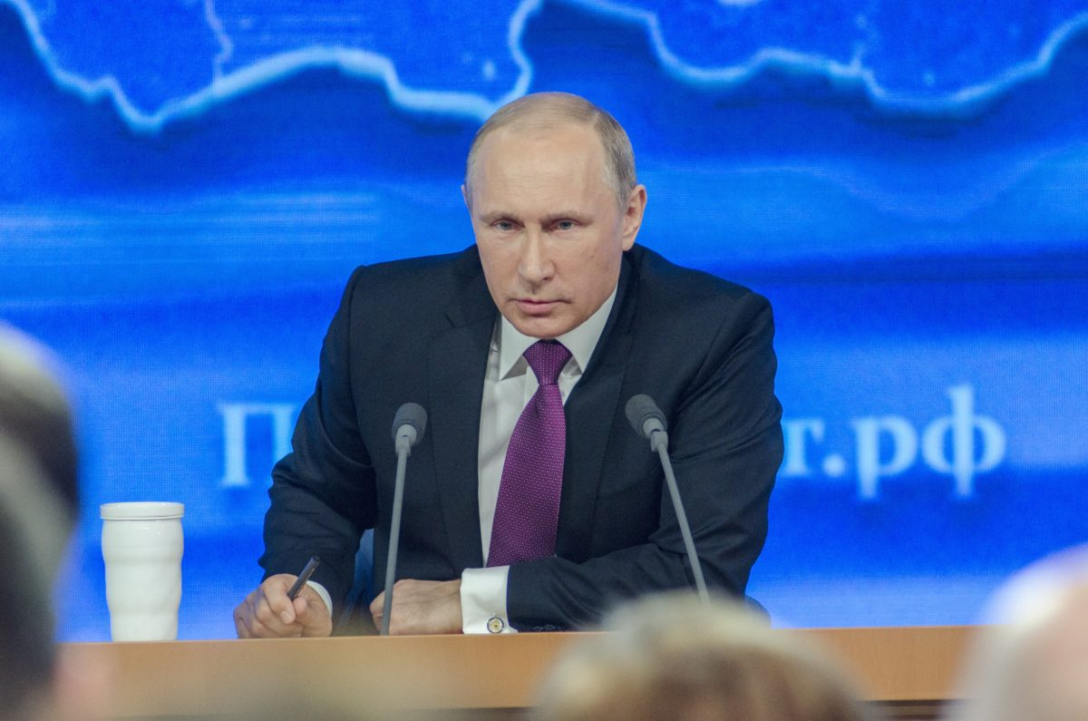 Vlagyimir Putyin.