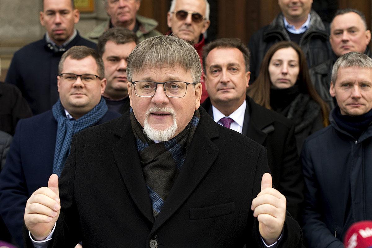 Dézsi Csaba András, Győr új fideszes polgármestere.
