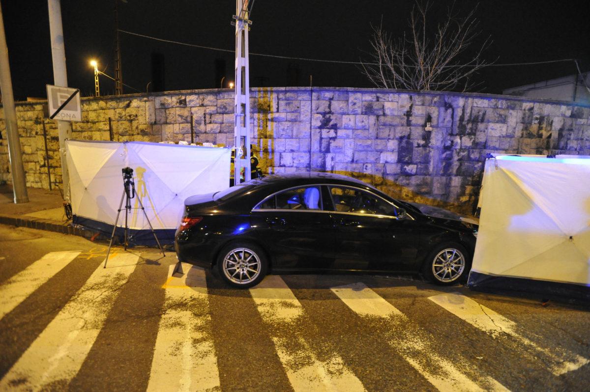 Baleseti helyszínelés a budapesti Ferdinánd híd közelében 2020. január 4-én. Gesztesi Károly 56 éves színművész vezetés közben rosszul lett, infarktust kapott. Kocsijával félreállt, ám hiába jött gyorsan a segítség és próbálták 50 percen keresztül újraéleszteni, az orvosok nem jártak sikerrel.