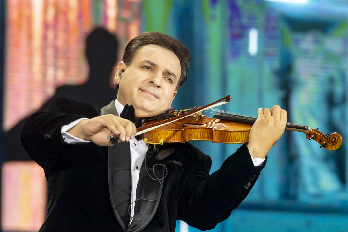 Mága Zoltán újévi koncertje Budapesten 2020. január 1-jén.
