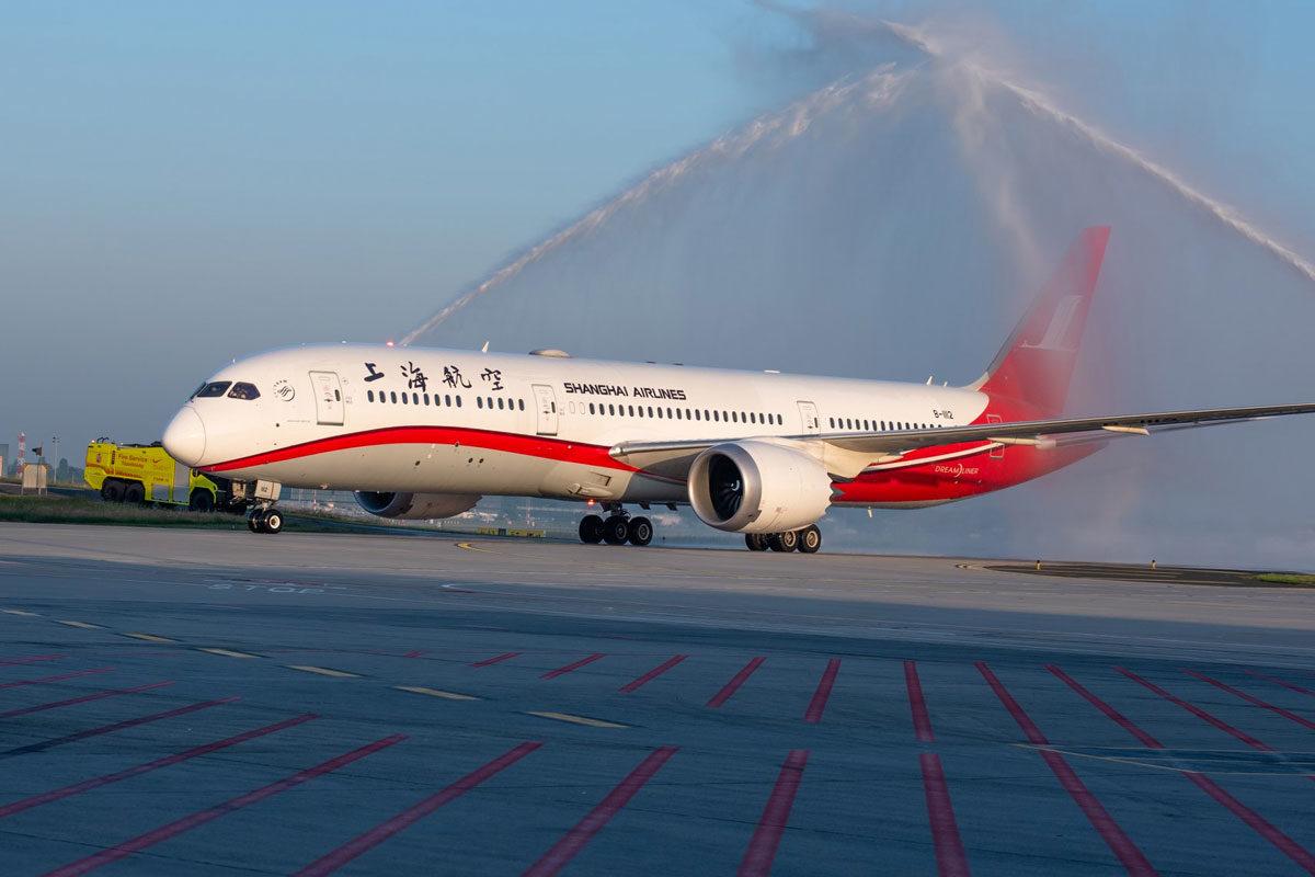 Felfüggeszti a Shanghai Airlines két budapesti járatát