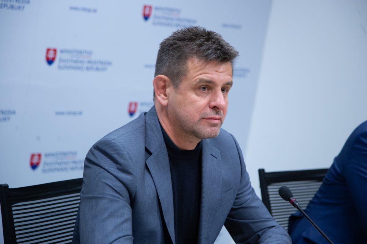 Solymos László, most már csak volt szlovák környezetvédelmi miniszter.