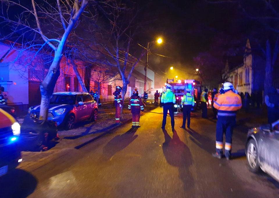 Négy gyermek halt meg egy lakástűzben Temesváron
