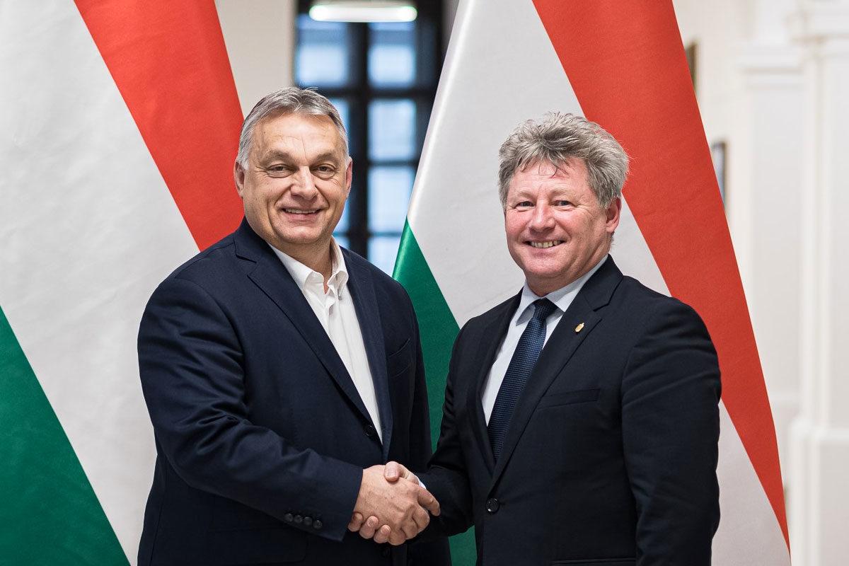 Orbán Viktor és Fenyvesi Zoltán.