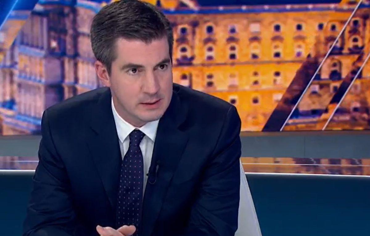 Kocsis Máté Fidesz-frakcióvezető a Hír TV-ben.