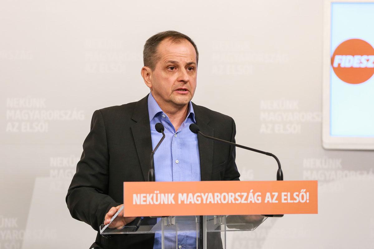 Budai Gyula, a Fidesz országgyűlési képviselője.