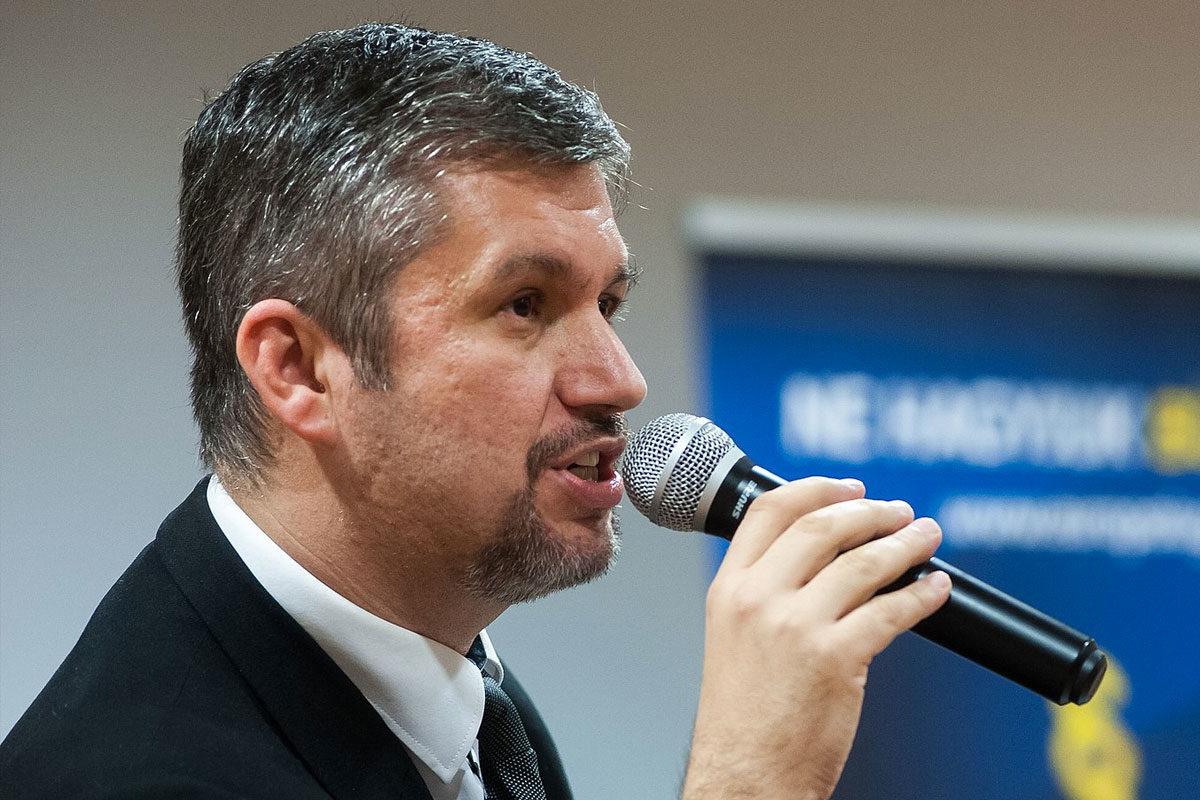 Hadházy Ákos a budapesti Lurdy Konferencia és Rendezvényközpontban 2018-ban.