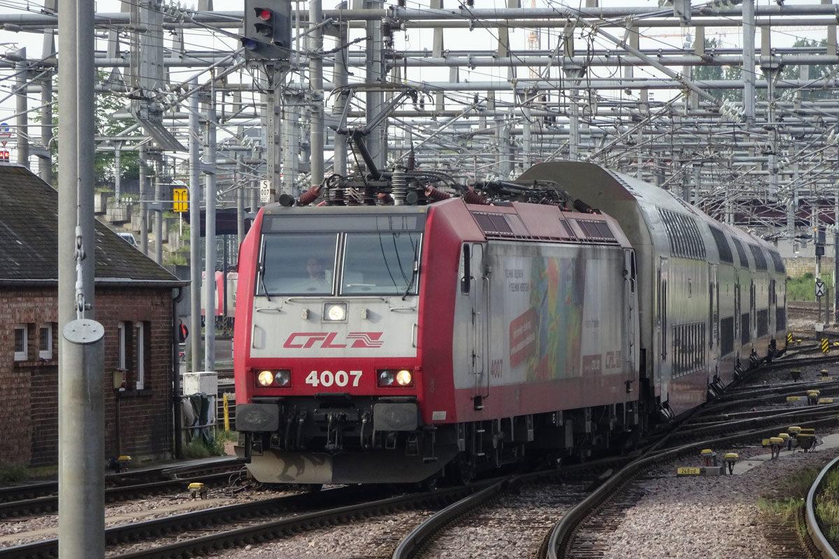 Vonat Luxemburgban.