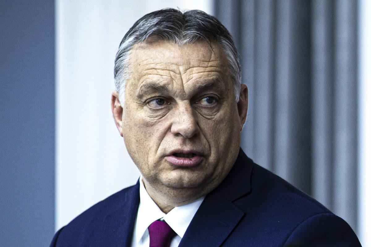 Orbán Viktor Chisinauban 2020. március 12-én.