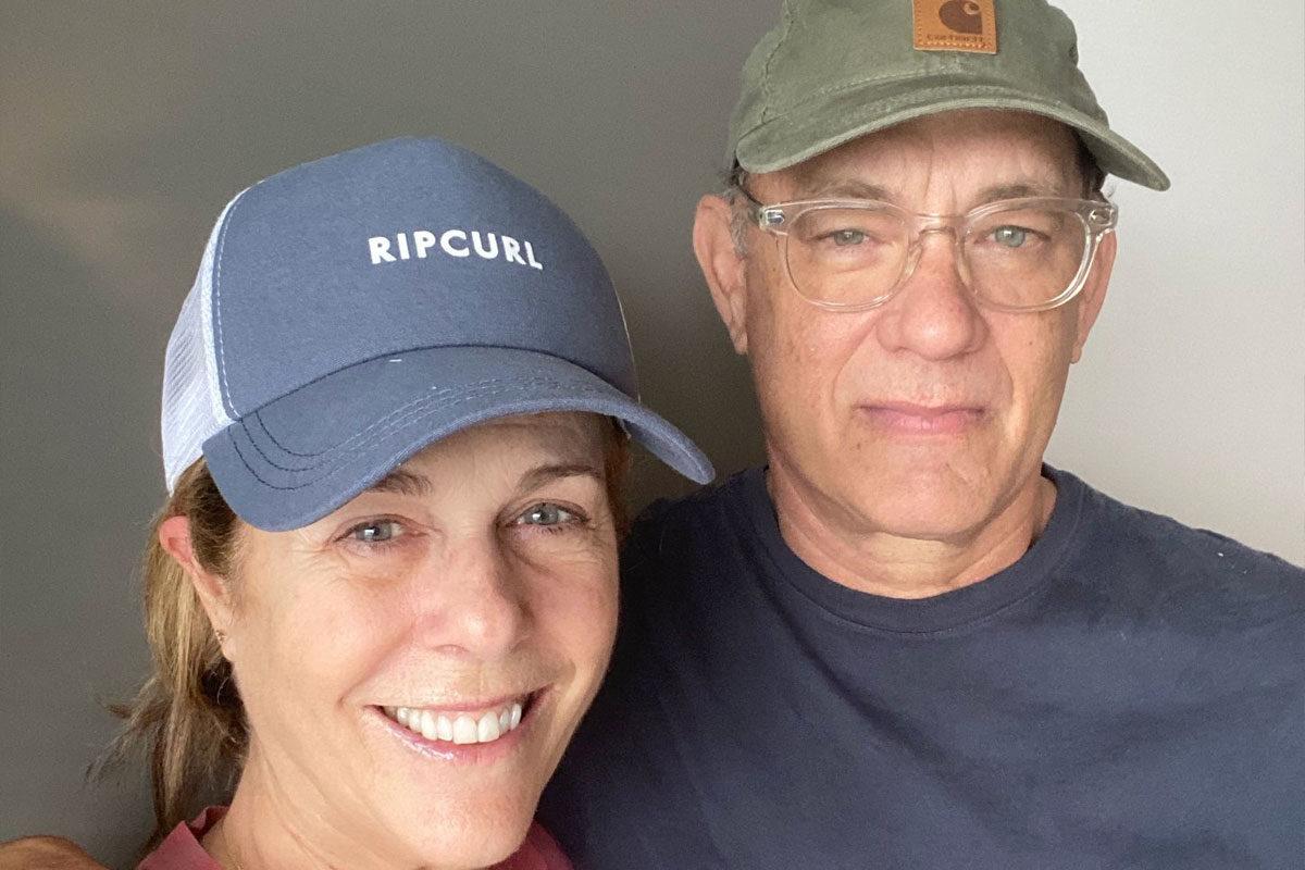 Rita Wilson és Tom Hanks színészházaspár.