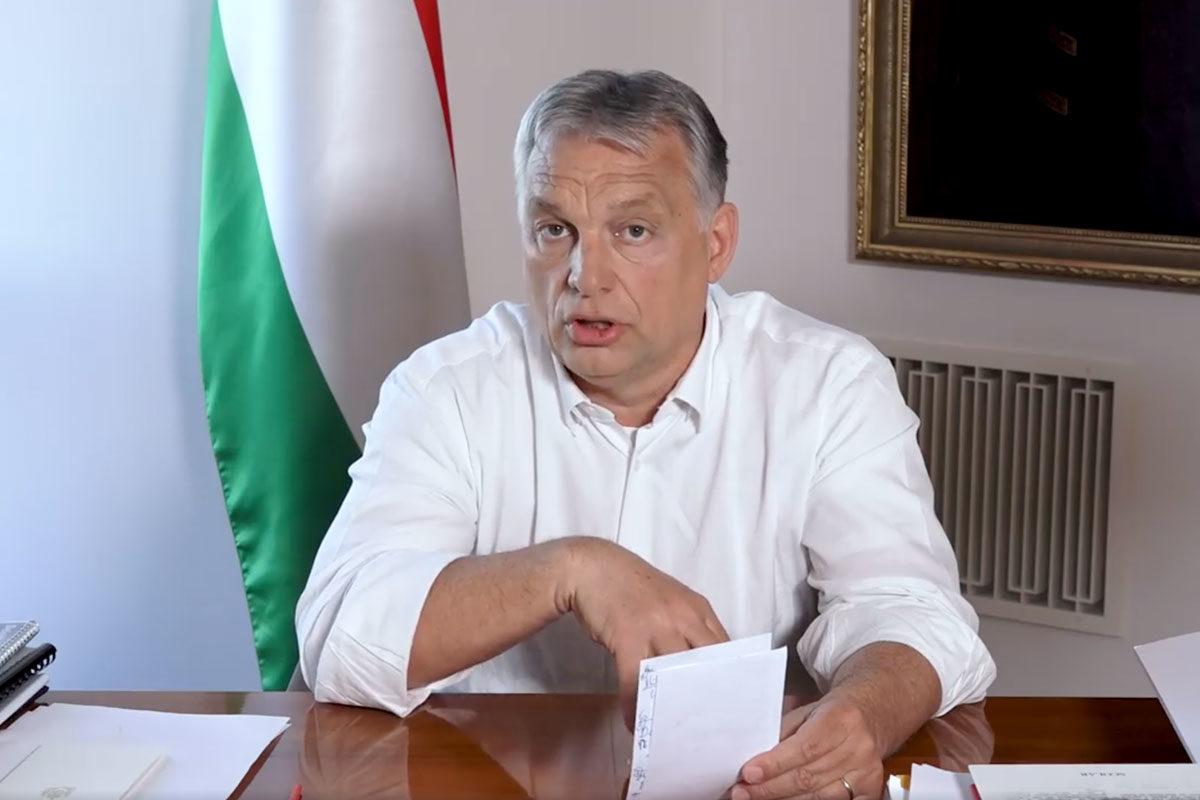 Orbán megint libernyákozott, és biológiai bombával riogatott a migránsok kapcsán